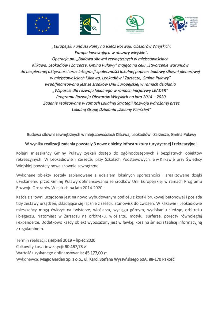 Klikawa Leokadiów Zarzecze
