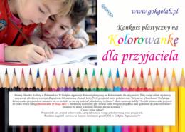 Plakat Kolorowanka dla przyjaciela