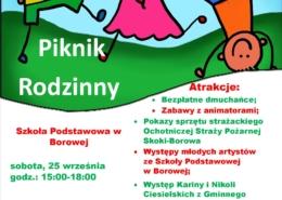 Plakat Borowa