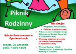 Plakat Opatkowice